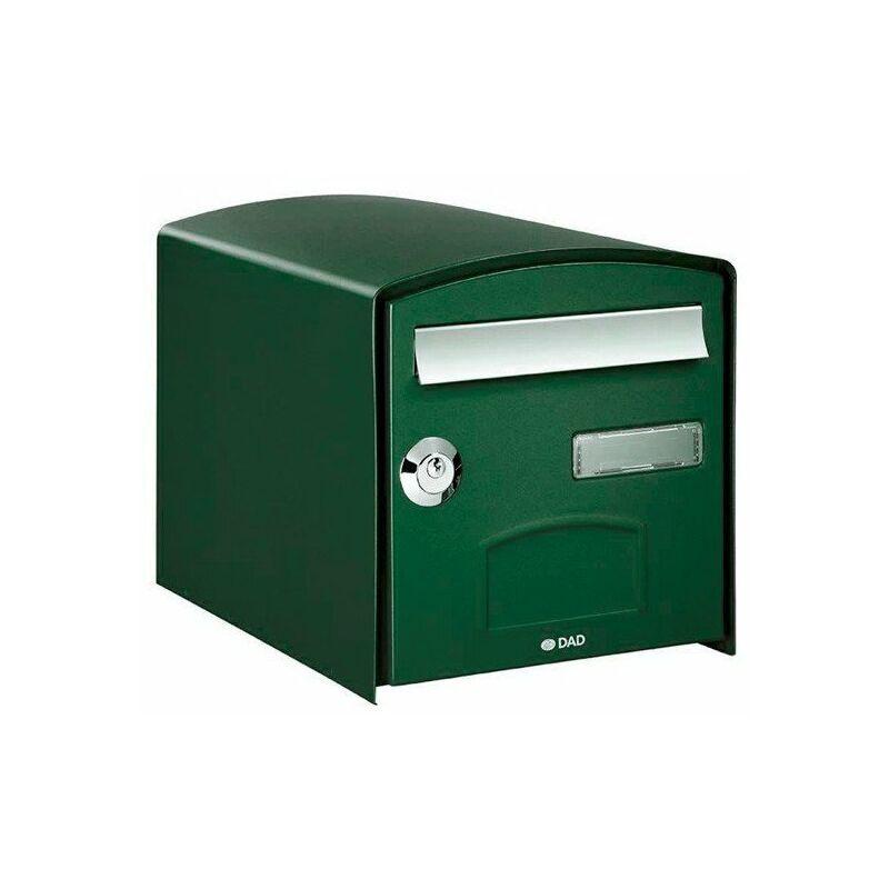 Boîte aux lettres double face DOME - Vert - Vert