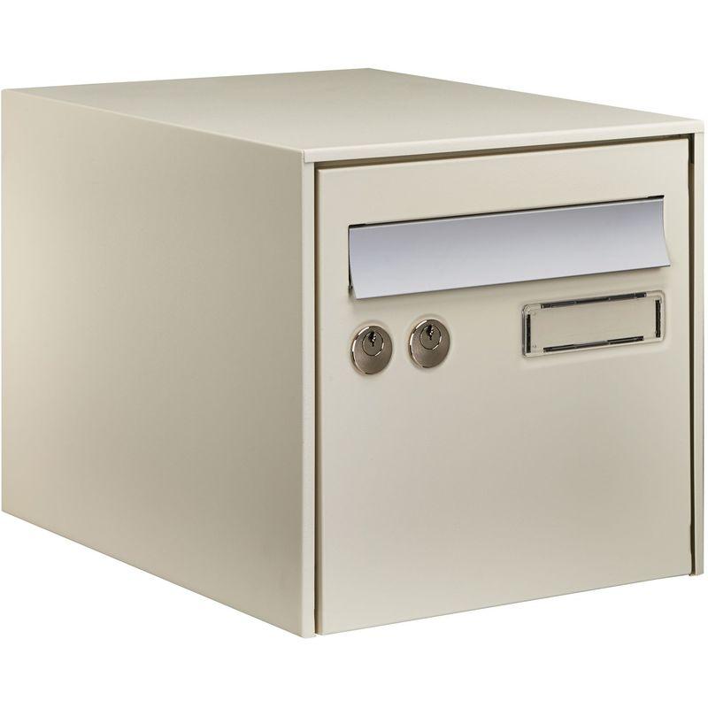 DECAYEUX Boîte aux lettres simple face @BOX 300 - Ton pierre - Beige