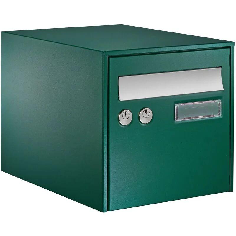 DECAYEUX Boîte aux lettres simple face @BOX 300 - Vert - Vert
