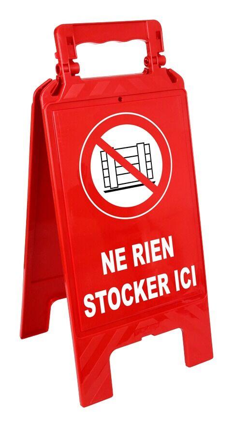 NOVAP Chevalet Ne rien stocker ici - 4291086