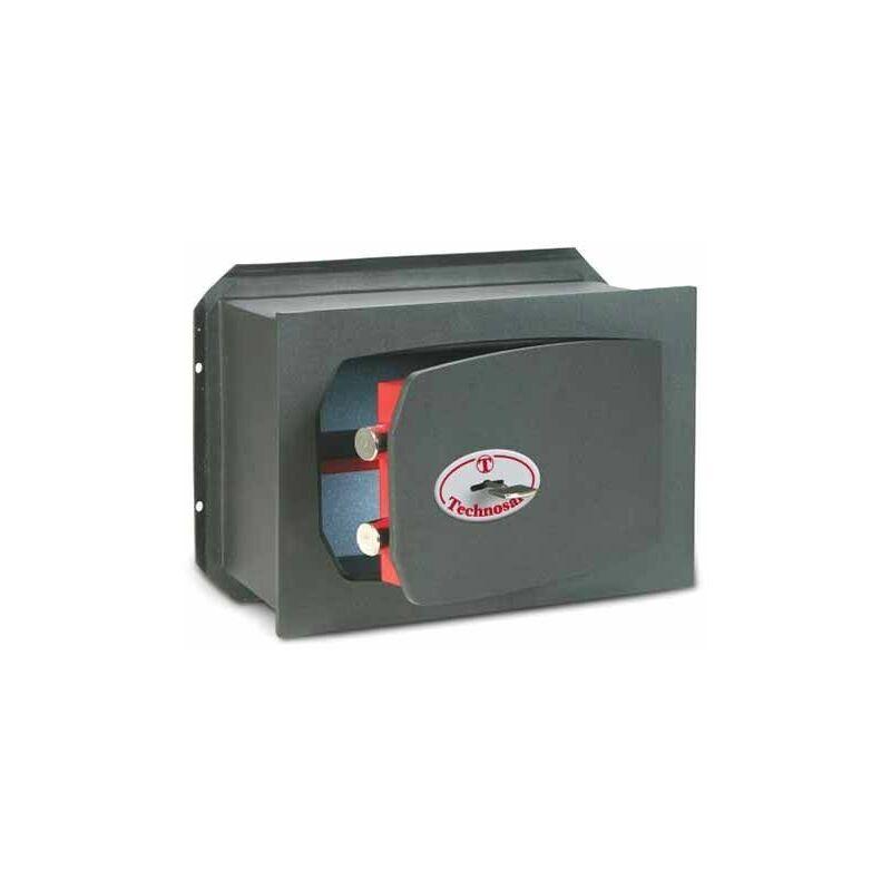 TECHNOMAX TECHNOSAFE KEY Coffre-fort a emmurer avec serrure à clé double panneton TK/2