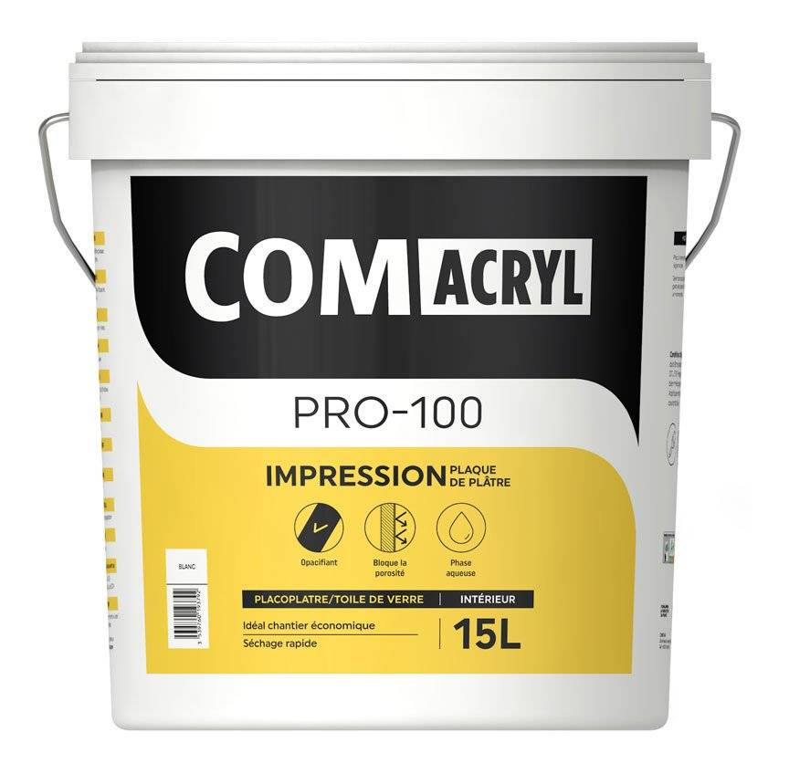 COMUS Sous-couche acrylique top rapport qualité/prix : Comus Comacryl Impression