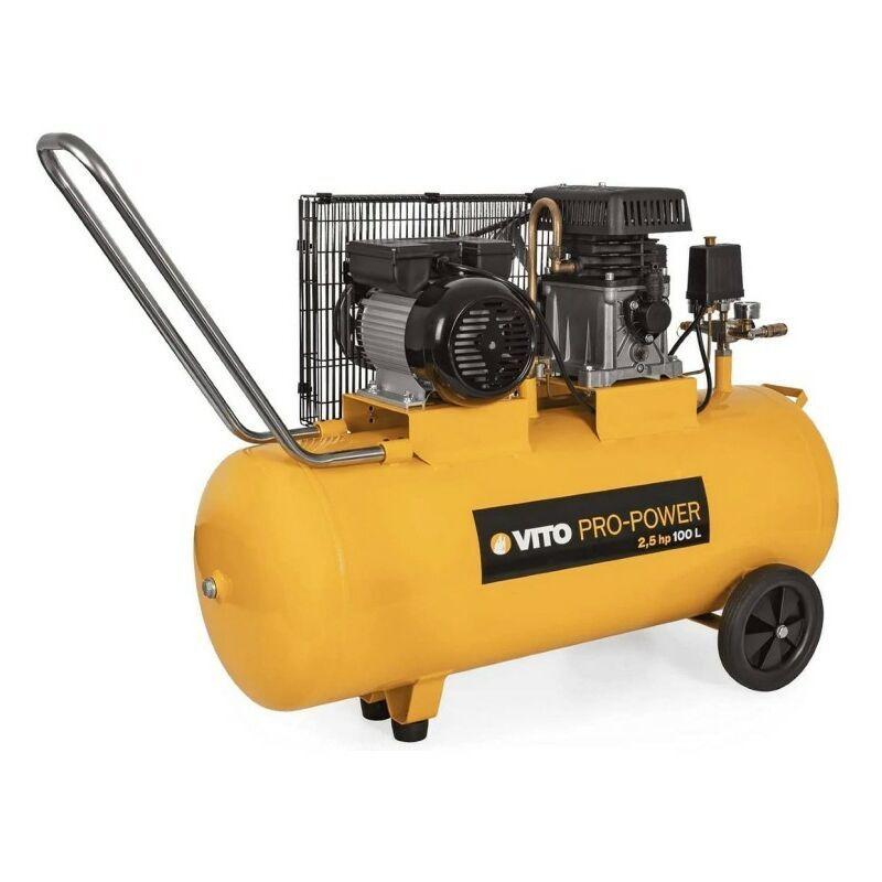Vito Pro-power - Compresseur à courroie 2.5 CV /100L VITOPOWER 1850 W 230V AC