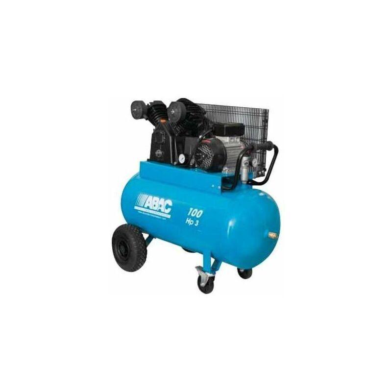 ABAC Compresseur à piston - Réservoir 100 l - Puissance 3 CV - Abac