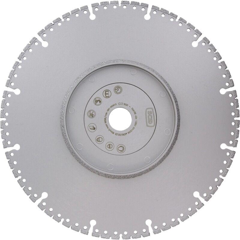 SCID Disque diamanté spécifique SCID - Diamètre 230 mm