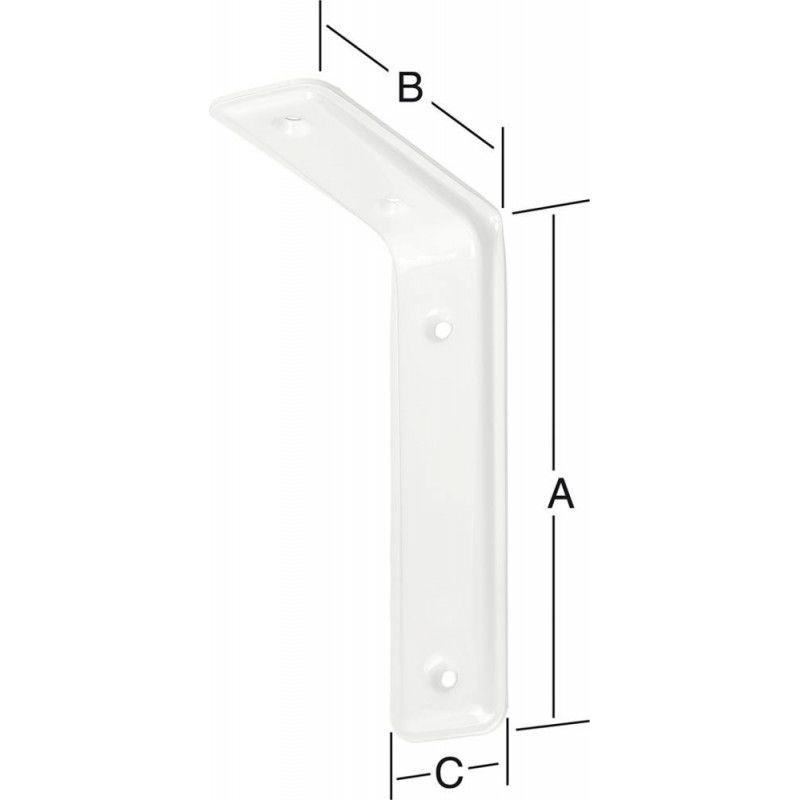 FP - Equerre-3F blanc 315X200MM NR. 165315W