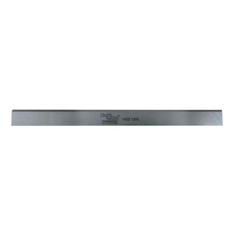 DIAMWOOD PLATINUM Fer de dégauchisseuse/raboteuse Green Line 520 x 30 x 3 mm acier HSS 18% (le