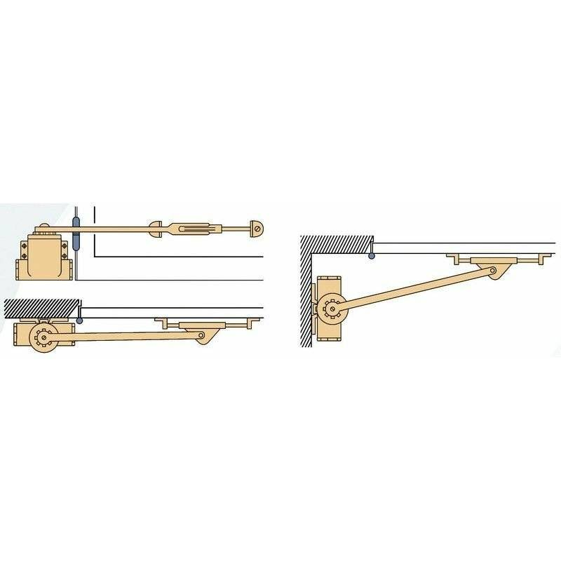 Groom - Ferme-porte Classique série 9 - Multicouleur