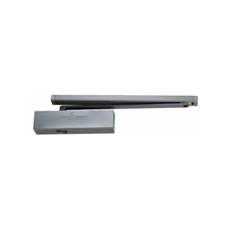 GROOM Ferme-porte GR400 force 3 à glissière - Groom - Argent