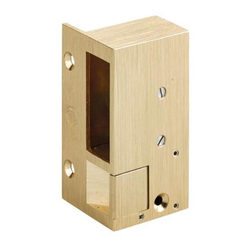 METALUX Gâche électrique en applique gauche pour serrures horizontales n°2, hauteur 98