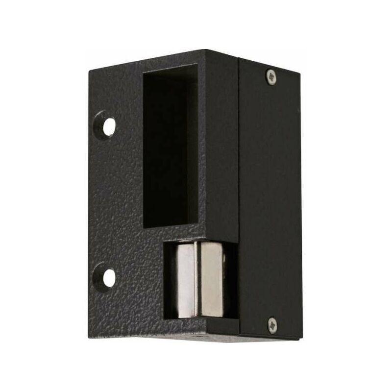 Beugnot - Gâche électrique pour serrure horizontale Droite - Noir - Tension 12 V