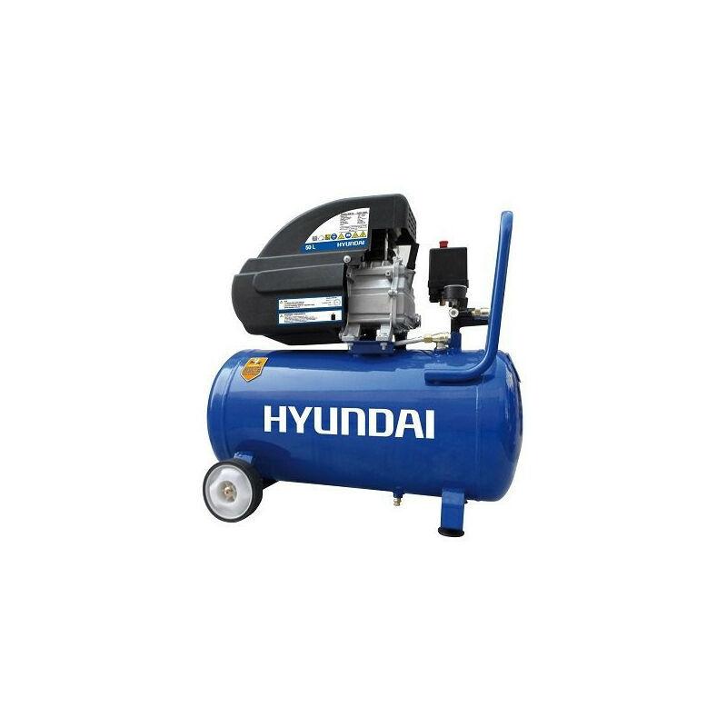 Hyundai E - HYUNDAI HYAC50-2 Compresseur 8 Bar 50 Litres