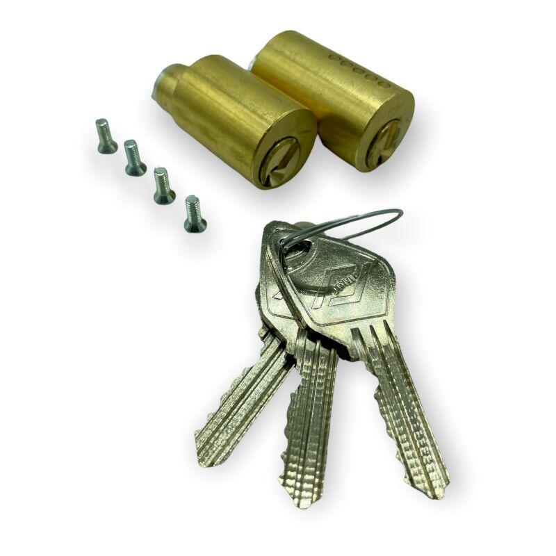JPM - Jeu de cylindres à 5 goupilles pour toutes serrures VEGA 40mm 23210L40