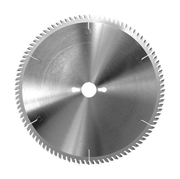 LEMAN Lame circ. carbure fine à format D. 150 x Al. 30 mm. x 48 dents alt. pour PVC