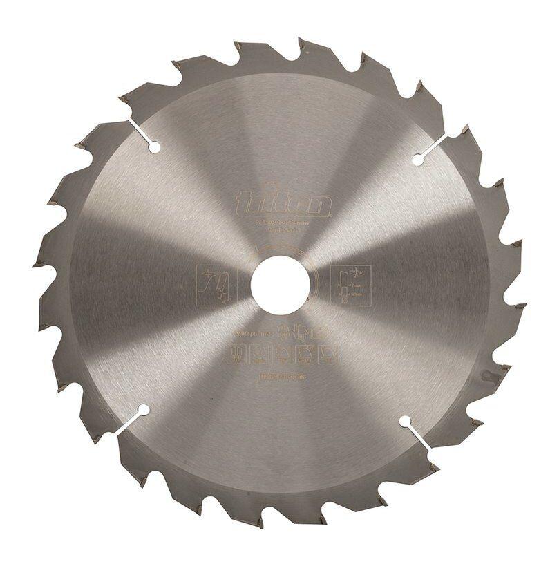 Triton - Lame de scie pour travail du bois - 250 x 30 mm 24 dents