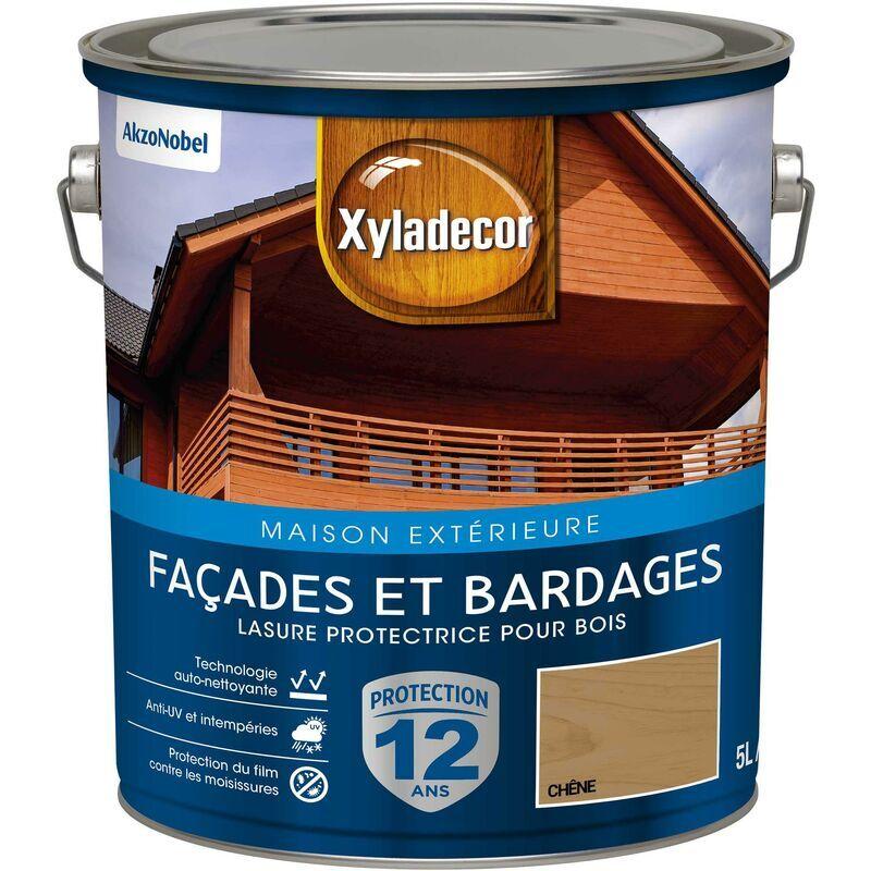 XYLADECOR Lasure protectrice pour bois extérieur - Facades et Bardages - aspect satin