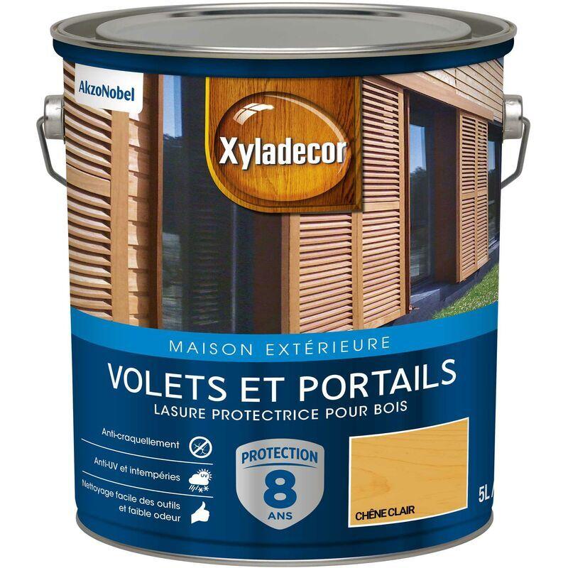XYLADECOR Lasure protectrice pour bois extérieur - Volets et Portails - aspect satin