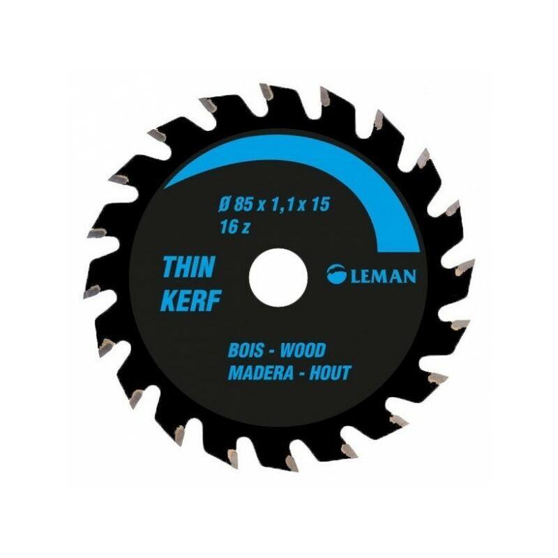 Leman - Lame de scie circulaire portative fine 136x20mm 24 dents