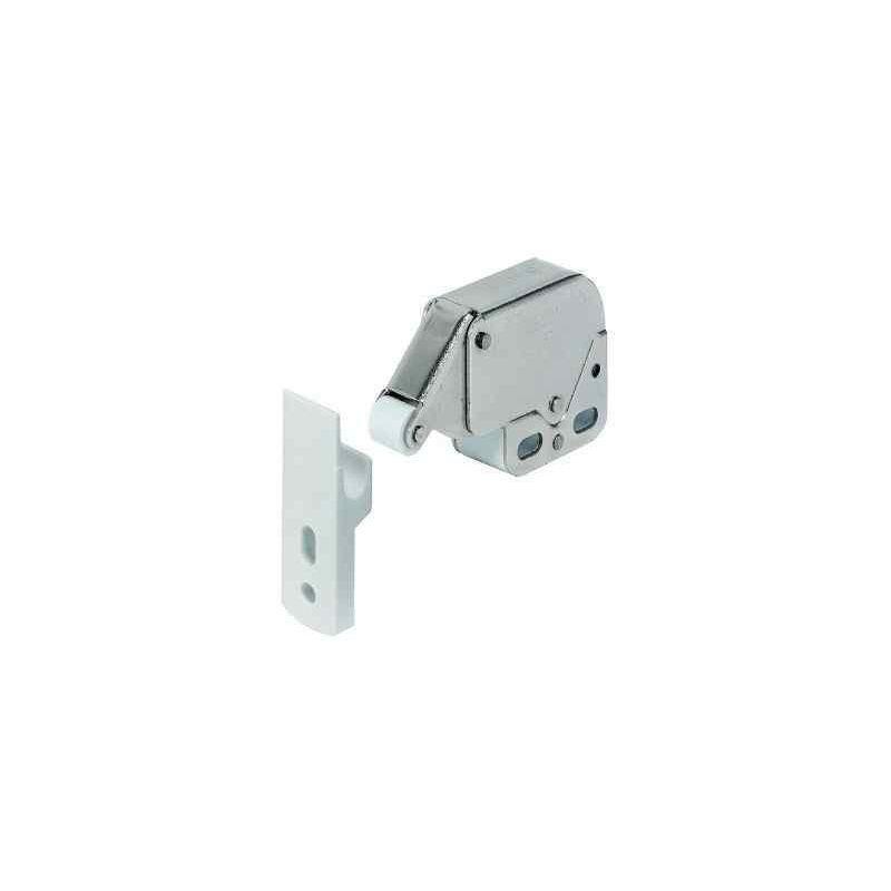 Loqueteau mini latch blanc pour caravane et camping-car