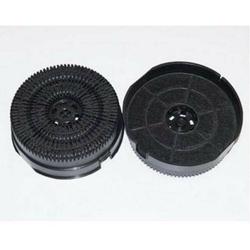 WHIRLPOOL Lot de 2 filtres à charbon type 58 AKB000/1 (201880-2063) (484000008782) Hotte