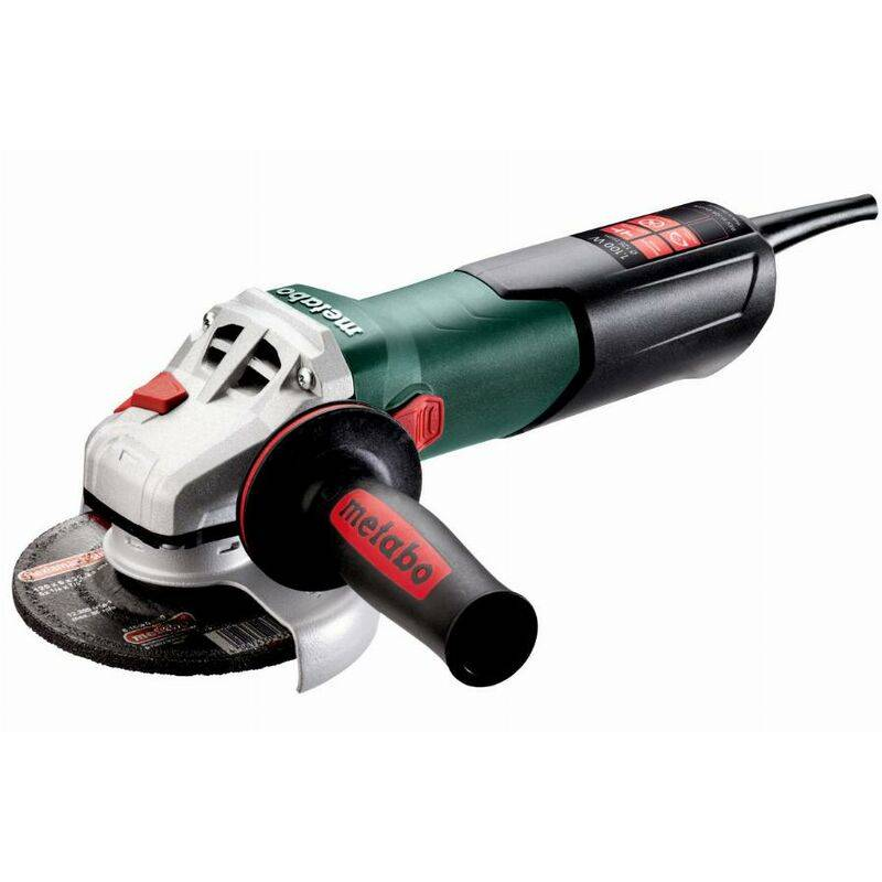METABO Meuleuse Ø125 mm filaire WEV 11-125 QUICK METABO + coffret - 603625500