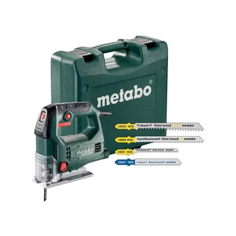 METABO Scie sauteuse 450W + 20 lames STEB65Quick - 690920000