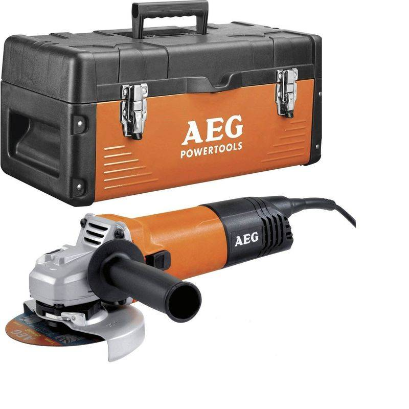 A.E.G MEULEUSE 1200 Watts 125mm AEG WS12-125 XE + Coffret + 13 Accessoires OFFERTS