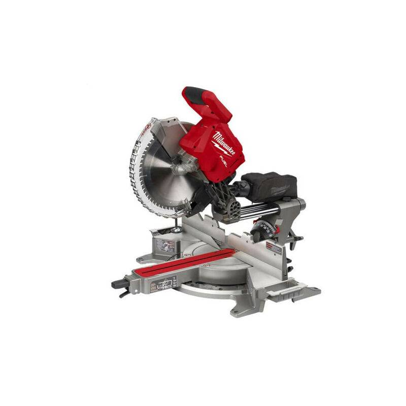 MILWAUKEE Scie à onglet radiale MILWAUKEE M18 FMS305-121 - 1 batterie 12.0 Ah- 1 chargeur
