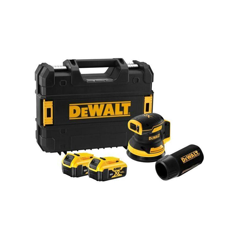 DEWALT Ponceuse excentrique XR 18V 125 mm Brushless DEWALT - 2 batteries 5.0Ah +