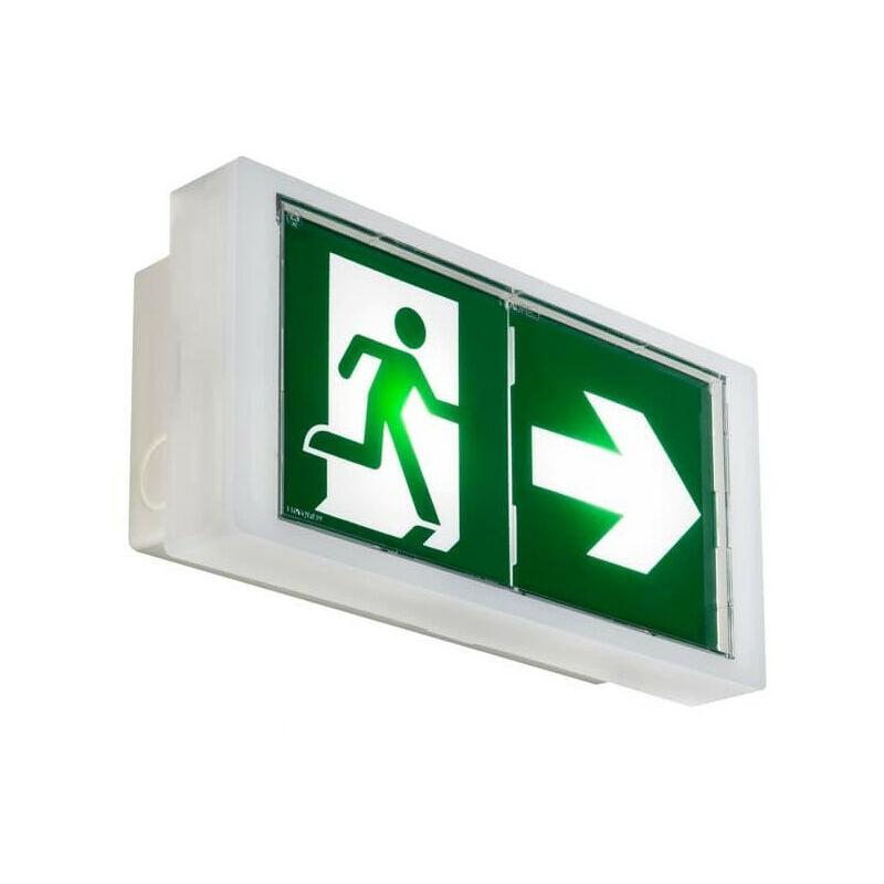 KAUFEL PRIMO3/Lumin.évac. étanche 100% LED 230Vac NF AEAS et ENV. LSC 442605K - Kaufel