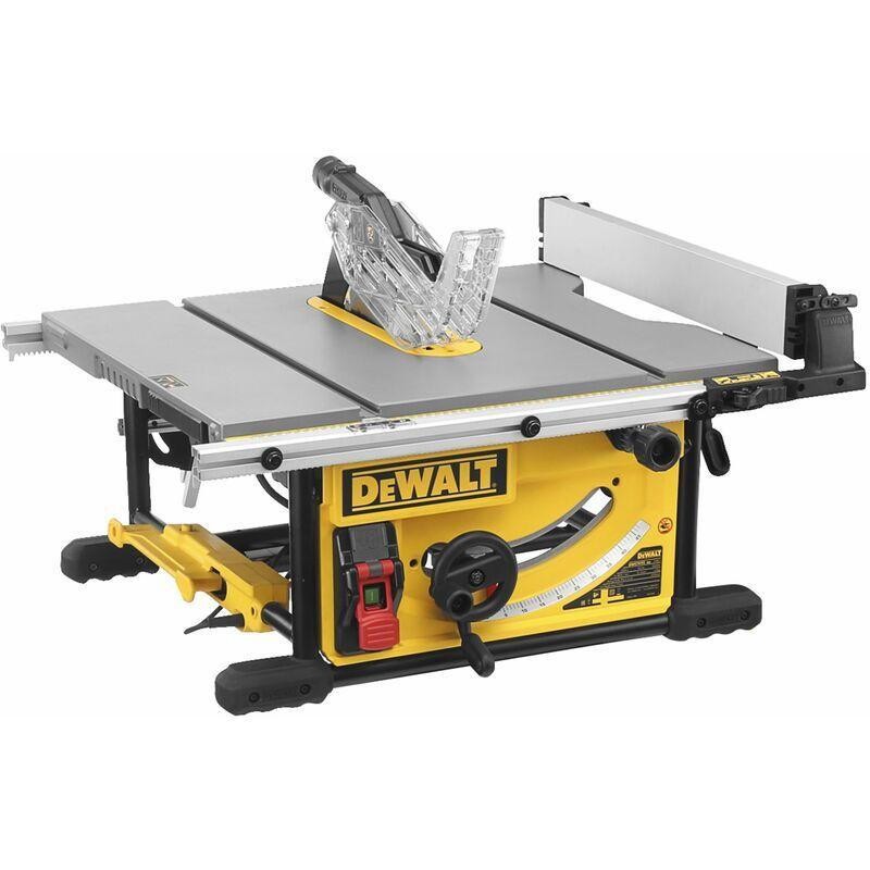 DEWALT Scie a Table - 2000 W - 250 mm - Table en fonte d'Aluminium - DEWALT, DWE7492-QS