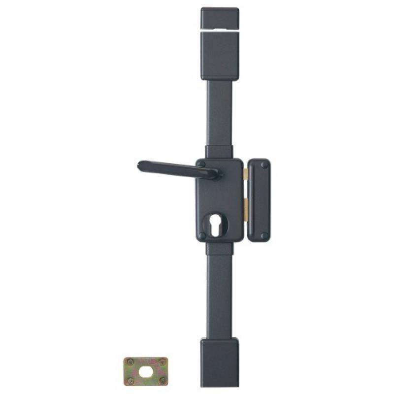 Thirard - Serrure en applique verticale 3 points à fouillot 7 mm - A cylindre