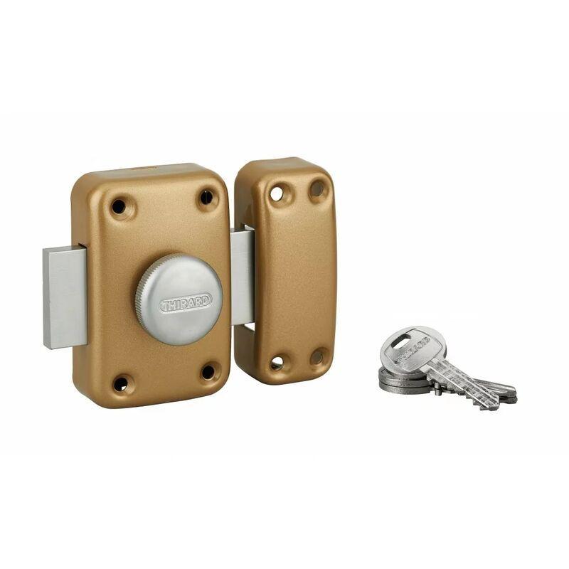 THIRARD - Capital à bouton et cylindre 60 mm