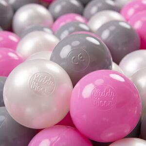 KiddyMoon 50 ? 7Cm Balles Colorées Plastique Pour Piscine Enfant Bébé Fabriqué - Publicité