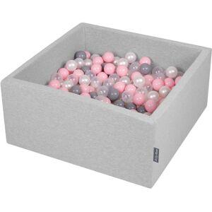 KiddyMoon 90X40cm/300 Balles ∅ 7Cm Carré Piscine À Balles Pour Bébé Fabriqué En - Publicité