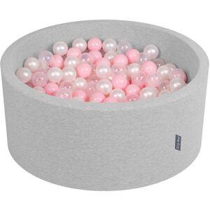 KiddyMoon 90X40cm/300 Balles ∅ 7Cm Piscine À Balles Pour Bébé Rond Fabriqué En - Publicité