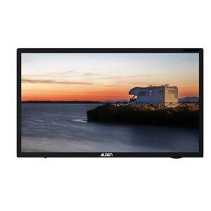 ALDEN TV LED 18,5 48cm Télévision HD Lecteur DVD intégré Camping car 12V - Noir - Publicité