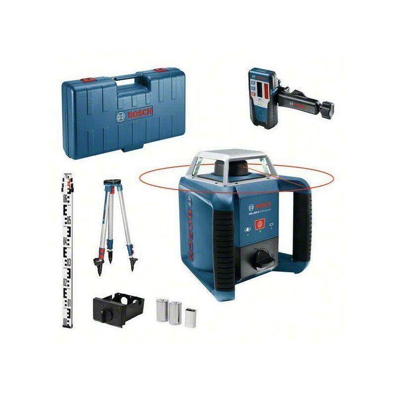 Bosch Professional Laser rotatif GRL 400 H Set, dans coffret de transport avec