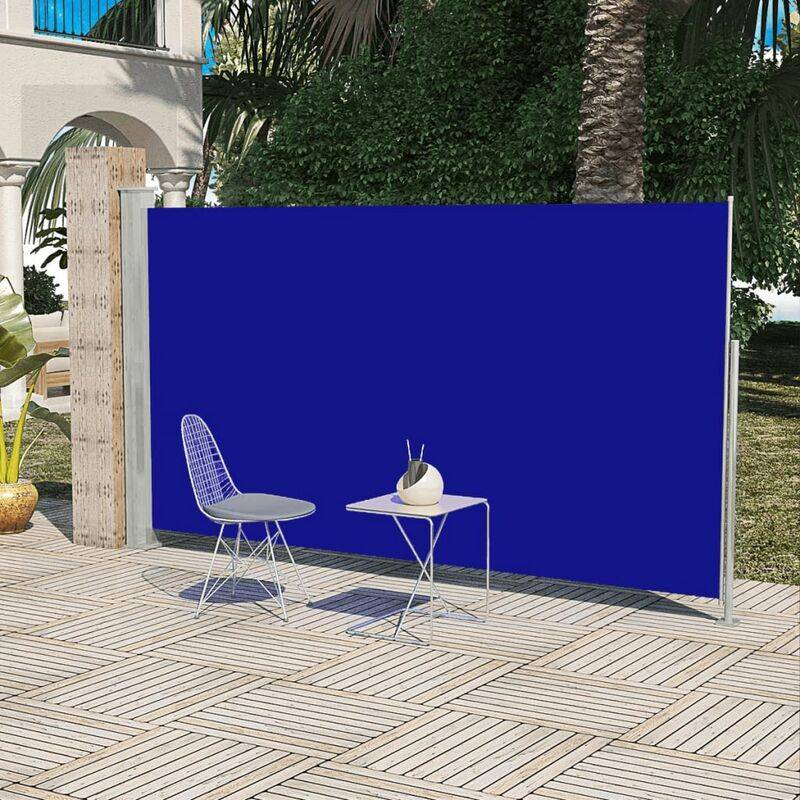 BETTERLIFE Paravent Store vertical Patio Terrasse 160 x 300 cm Bleu - Betterlife