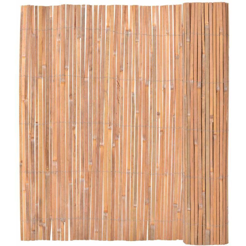 ILOVEMONO Clôture en bambou 150 x 400 cm