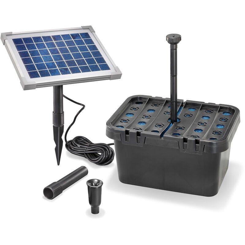 ESOTEC Système de pompe solaire avec boîte de filtration 'Turin-F - Esotec