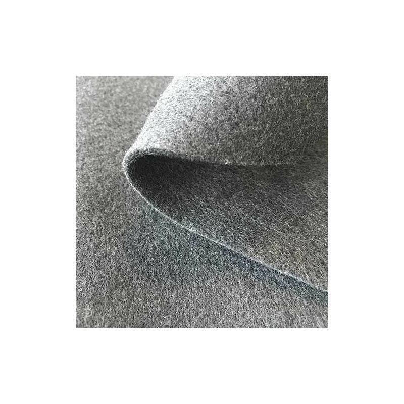 ATOUT LOISIR Géotextile anti-poinçonnant spécial bassin 300 g/m² gris, Long 100 m, Larg 2 m