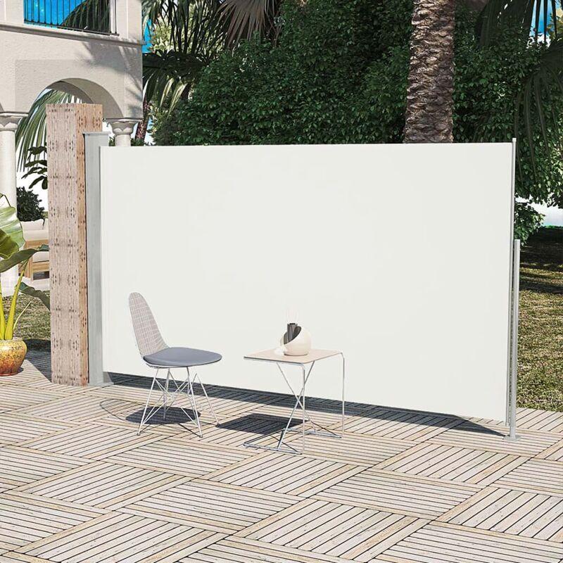 YOUTHUP Paravent Store vertical Patio Terrasse 160 x 300 cm Couleur Crème