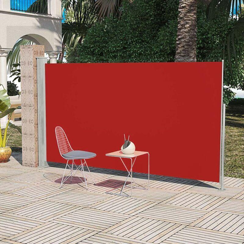 ILOVEMONO Paravent Store vertical Patio Terrasse 160 x 300 cm Rouge