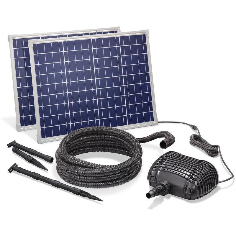 Esotec - Pompe solaire de cours d?eau 100W 3400l / h Pompe solaire Cascade