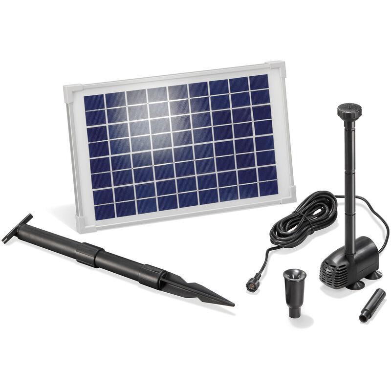 Esotec - Pompe solaire pour bassin 10W 610l/h Pompe solaire pour bassin de
