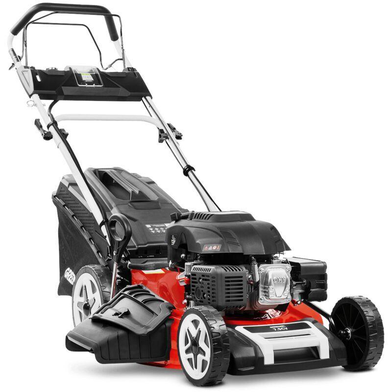 Greencut – Tondeuse gazon autopropulsee 530mm 4en1 starter electrique 224cc 7.5cv
