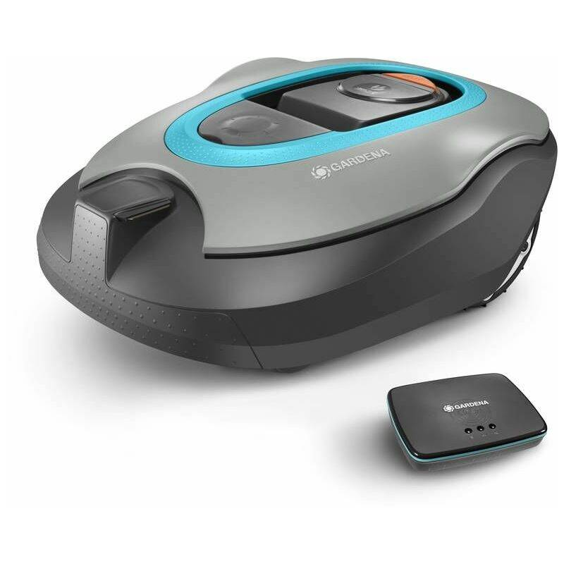 Gardena – Tondeuse robot smart SILENO+ 2000 connectée pour des surfaces de tonte jusqu'à 2000 m².