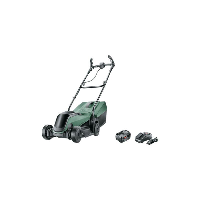 BOSCH Tondeuse sans fil Bosch - CityMover 18 (Livrée avec une batterie 18V-4Ah et son