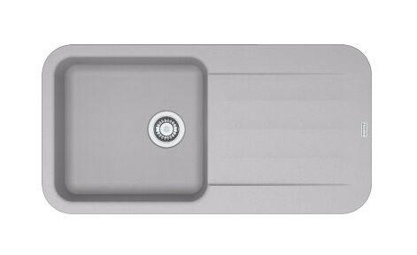 Franke - Evier PEBEL FRAGANIT PEG611-97 Platinum (sous meuble 60mm)